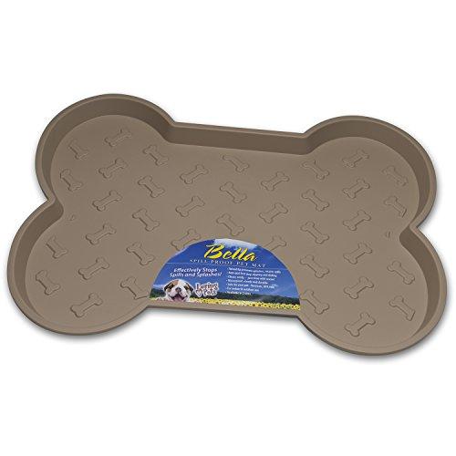Loving Pets LOVI07352 Hundematte - Bella Spill-Proof, Größe L, braun -