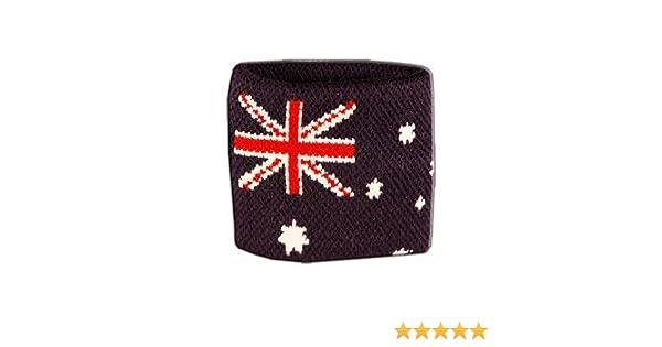 Digni/® Poignet /éponge avec drapeau Australie
