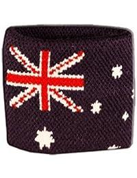 Digni® Poignet éponge avec drapeau Australie