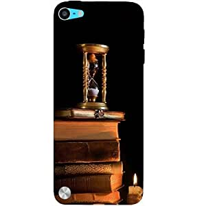 Casotec Magic Candles Books Design Hard Back Case Cover for Apple iPod Touch 5th Generation