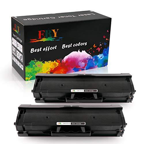 EBY MLT-D111L MLT-D111S D111S Cartucce Toner Compatibile per Samsung SL-M2020 SL-M2022 SL-M2026 SL-M2070 SL-M2020W SL-M2022W SL-M2026W SL-M2070W SL-M2070F SL-M2078W SL-M2070FW (2 Nero)