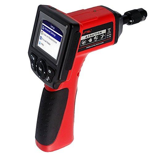 Preisvergleich Produktbild Autel MaxiVideo MV400 Endoskop Endoscope Digitales Videoskop 8,5mm Hauptkontrolle-Kamera Auto Inspektionkamera Bilder und Video