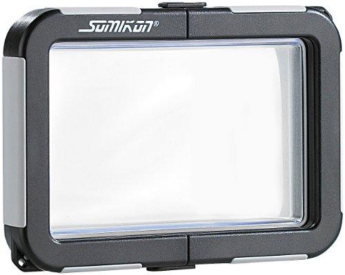Somikon Kamera-Regenschutzhülle: Kamera-Tauchgehäuse ohne Objektivführung (max. 99x64x20mm) (Schnorchler Kamera-Tasche)
