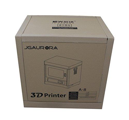 JGAURORA A8 Voll Metallrahmen Struktur FDM 3d Drucker maschine, Große 3d Drucker mit 350 * 250 * 300mm Build Größe - 6