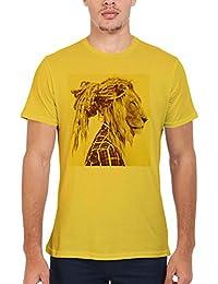 Lion Rasta Hair Funny Novelty Blanc Femme Homme Men Women Unisex Top T Shirt