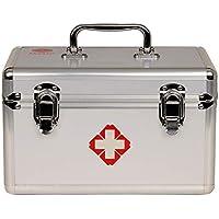 Brmind Erste-Hilfe-Kasten aus Aluminium, Erste-Hilfe-Kasten für den Notfall, Notfall-Rettungsbox, 28 * 18 * 20cm preisvergleich bei billige-tabletten.eu