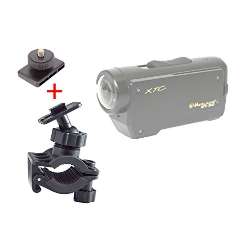 duragadget-secure-clamp-on-road-bike-camcorder-mount-standard-tripod-mount-for-midland-xtc-260vp3-xt