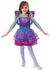 Amscan 9903284 - Disfraz de hada arcoíris de Barbie, para niña, color antiolida