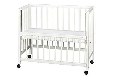Suabia Kids® Blanca cama auxiliar Lactancia anstell cama Moisés + colchón