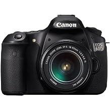 Canon EOS 60D - Cámara Réflex Digital 18 MP (Objetivo EF 18-55mm IS II) (importado)