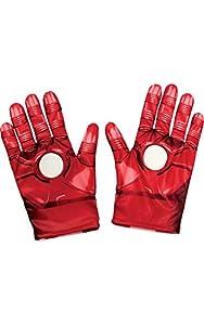 "Rubies - Guantes para niño de Iron Man de""Los vengadores"", producto oficial de""Marvel"", talla única"