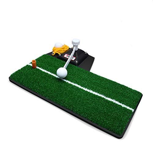 LOVEPET Multifunktion Golf, Das Matten Setzt Kleiner Indoor-Golf Trainingsausrüstung Swing-Trainer Nylonrasen 48X23cm 15cm