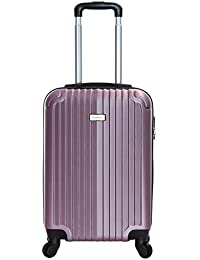 Slimbridge Hard Cabin Hand Carry-on Suitcase Luggage Bag 55 cm 2.5 kg 35 litres 4 Wheels Number Lock, Borba