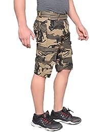 Krystle Boy's Army Shorts