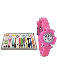 Swadesi Stuff Analogue Multicolor Dial 11 Belt Watches for Girls