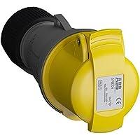 ABB 316EC4 IP44 3P+E - Cable de enchufe, plástico, color amarillo