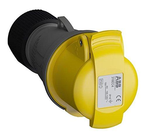 ABB 316ec4IP443P + E Kabel Sockel, Kunststoff, gelb