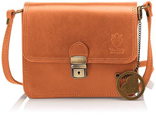 4ea712b0 Chicca Borse - Cbc7703tar, Shoppers y bolsos de hombro Mujer, Marrón  (Cuoio), 8x17x20 cm (W x H L)