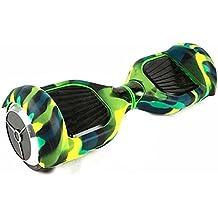 Funda Protector de Silicona para 6.5 Inch Hoverboard Smart Balance Wheel Patinete Electrico Dos Ruedas (Verde)