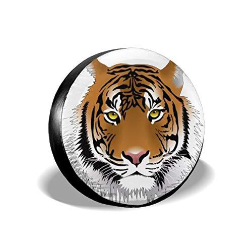 Tiger Pet Tire Cover Car Accession Travel Decor -