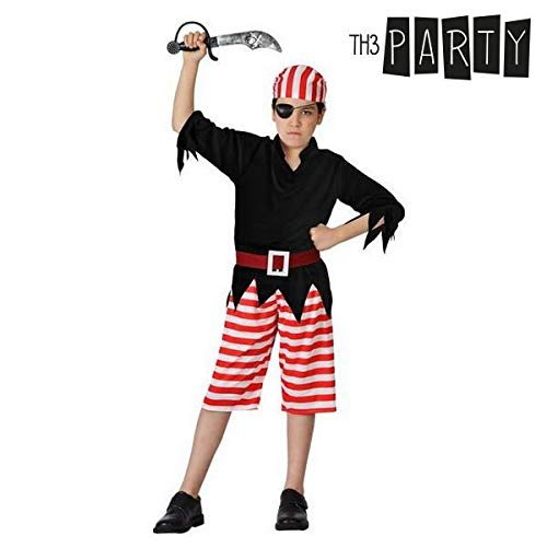 Disfraz para Niños Pirata (4 Pcs)