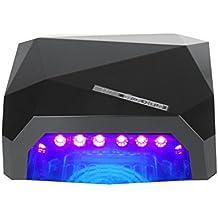 Vinteky® Lámpara LED Profesional, Secador de Uñas en Manicuras con Temporizadores de 10, 30 y 60 segundos