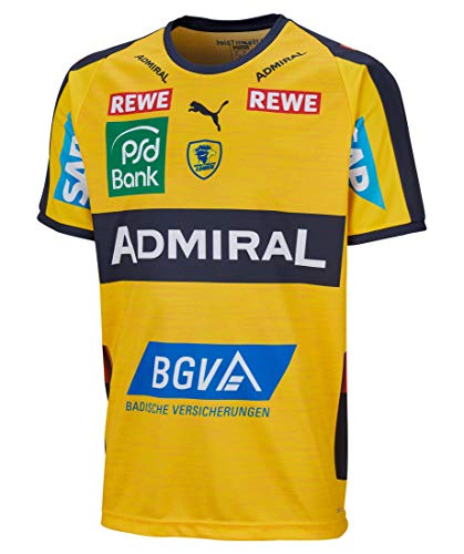 PUMA Kinder Handballtrikot RNL Home Shirt Jr. Kurzarm gelb (31) 140