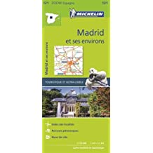 Carte Zoom 121 Madrid et Ses Environs