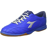 Diadora 6Play ID Scarpe da Calcetto Indoor Uomo Blu Azzurro Argento