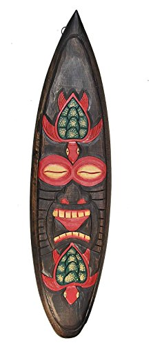 Surfboard 100 cm TIKI Schildkröten Dekoration Tiki Board Hawaii