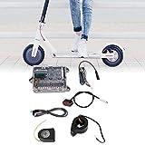 Tbest Kit de Controlador para XIAOMI Scooter, Placa Base + Placa de Bluetooth + Faro + Luz de Cola + Acelerador + Cable Kit de Reparación para Xiaomi Ninebot M365 Scooter Patinete Accesorios