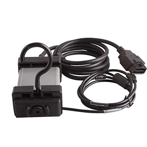Peepheaven Outil de Diagnostic multicanal Vida Dice 2014D pour Scanner de Puce complète Volvo OBD2 - Noir & Gris