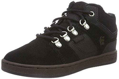 Etnies Unisex-Kinder Hohe Sneakers Schwarz (Black/Brown)