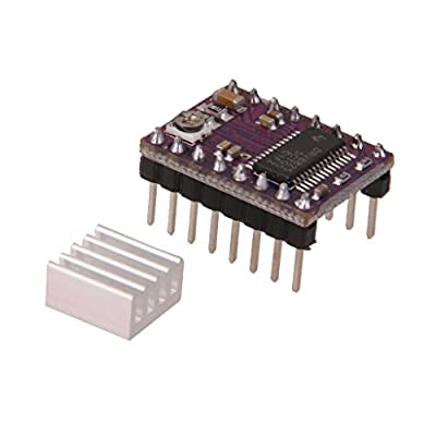 MagiDeal DRV8825 StepStick Schrittmotor Treiber Modul mit Kühlkörper für 3D Drucker