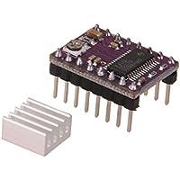 Drv8825 Modulo Del Driver Del Motore Passo-passo Con Stepstick Dissipatore Di Calore Per Stampante 3D