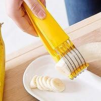 Wenwenzui-ES A1538 304 Cuchilla cortadora de plátano Corte de plátano artefacto Cuchillo de Fruta Gadget de Cocina 09