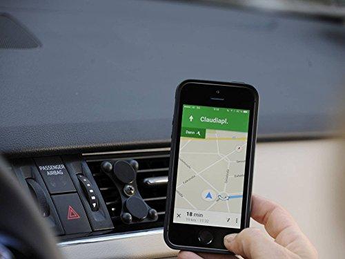 EasyMount Air - Die universal PKW Handy Magnet Halterung für das Lüftungsgitter für Apple iPhone, Samsung Galaxy , LG , Sony , HTC Smartphone