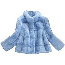 the best attitude b9754 e6d01 Amazon.it: Pelliccia di volpe - Blu