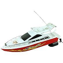 Tefamore Fashion starke Kunststoff Fernbedienung Boote Geschwindigkeit elektrisches Spielzeug Modell Schiff Segeln Kinder Spiel Kinder Schiff
