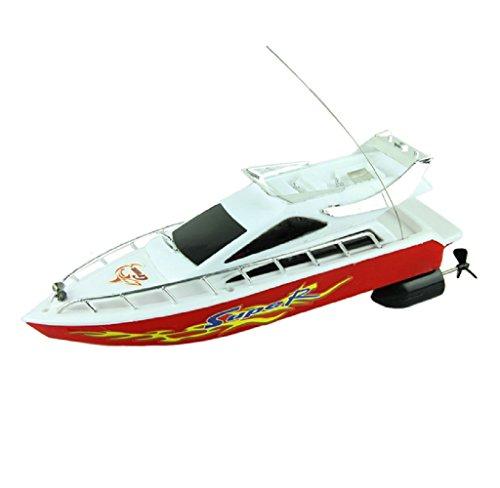 Tefamore Fashion starke Kunststoff Fernbedienung Boote Geschwindigkeit elektrisches Spielzeug Modell Schiff Segeln Kinder Spiel Kinder Schiff (Predator-drohne Spielzeug)
