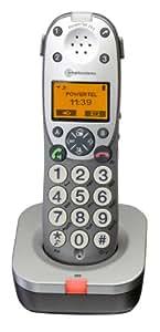 Audioline extra combiné supplémentaire PowerTel 701 - s'adapte PowerTel 700; PowerTel 702; PowerTel 780; PowerTel 880 combo; PowerTel 980