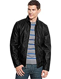 Guess leather jacket india