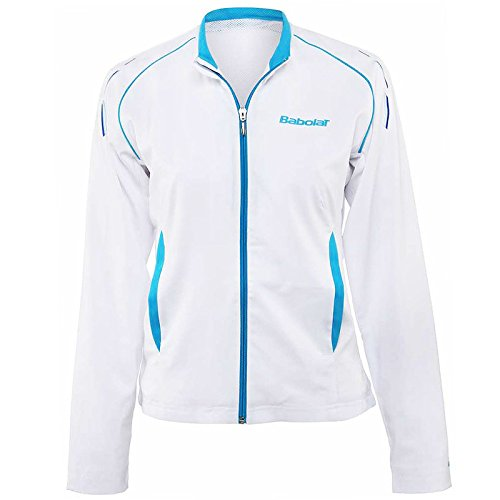 Babolat Damen Tracksuit Jacket Match Core Women Jacken, Weiß, XS