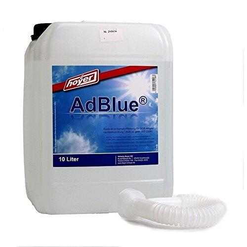 Preisvergleich Produktbild Hoyer AdBlue Hochreine SCR Harnstofflösung ISO 22241, 2x10 Liter