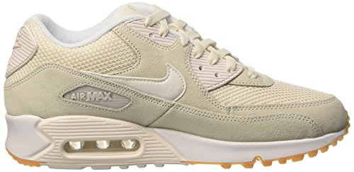 Nike Air Max 90 Essential Schuhe Sneaker Neu Weiß (Phantom/Phantom-White-Gum Yellow)