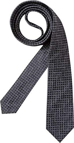 HUGO Herren Krawatte Herren-Accessoire Gemustert, Größe: Onesize, Farbe: Grau