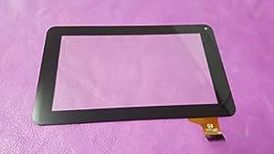noir ecran tactile touch digitizer vitre Tablette Code VT5070A37