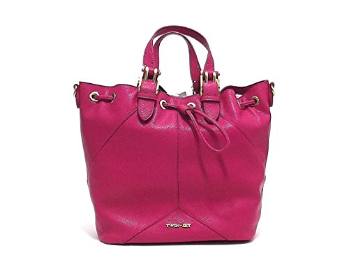 TWIN SET, Bagage cabine femme Violet fuxia