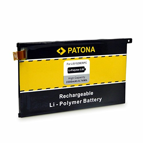 PATONA Batería LIS1529ERPC para Sony Xperia Z1 Compact D5503 1274-3419
