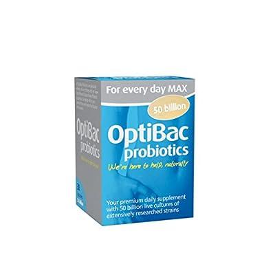 OptiBac Probiotics For every day MAX - 30 capsules by OptiBac Probiotics